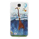 Cartoon Giraffe Pattern for Samsung Galaxy S4 I9500