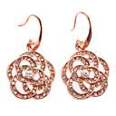 Z&X®  Carpet of Czech Diamond Crystal Earrings