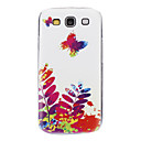 Oil Painting of Butterflies Pattern Hard Case for Samsung Galaxy S3 I9300