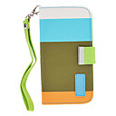 PU Leather Full Body Case with Strap and Buckle for Samsung Galaxy S4 I9500 (Assorted Colors)