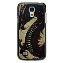 Dragon Pattern Aluminum Hard Case for Samsung Galaxy S4 mini I9190