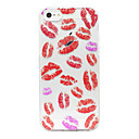 Lip Prints Pattern Polycarbonate Back Case for iPhone 5/5S