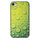 Water Drops Pattern Back Case for iPhone 4/4S