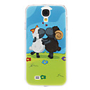 For Samsung Galaxy Case Pattern Case Back Cover Case Animal PC Samsung S4