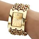 Men's Analog Quartz Gold Steel Band Bracelet Watch (Assorted Colors)
