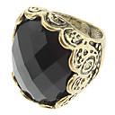 Women'S Vintage Diamond Inlaid Ring