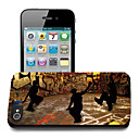 Hip-hop Pattern 3D Effect Case for iPhone5
