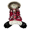 Британский Стиль Теплые пальто с Hoodie для животных Собаки (разных цветов, размеров)