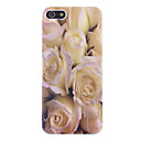 White Rose Pattern Protective Hard Case for iPhone 5/5S
