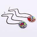 Candy-Цветные Gemstone ожерелье