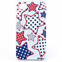 Joyland ABS Five-Pointed Star Back Case for iPhone 4/4S