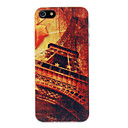 Vintage Maple Leaf Iron Tower Pattern PC Hard Case for iPhone 5/5S