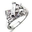 Свадебный стиль Мода Серебряное кольцо (случайный размер)