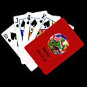 Персональный подарок Red Футбол Pattern игральных карт