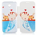 Сом Поцелуй кожаный чехол для всего тела для Samsung Galaxy S4 Mini I9190