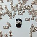 10шт Встроенные Алмазные бантом Nail Art украшения