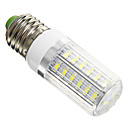 Corn Bulbs , E26/E27 6 W 42 SMD 5730 420 LM Cool White AC 220-240 V
