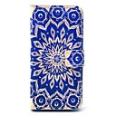 Retro Sunflower PU Leather Case with Card Holder for Samsung Galaxy S4 Mini I9190