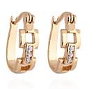 Women's Fashion Gold Plated Geometric Shape Earring ER0183