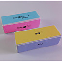 1PCS High Quality Four Sides Buffer Block for Buffing and Sanding DIY Manicure Nail Tools(Random Color)