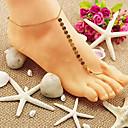 Shixin® Classic Shinning Golden Barefoot Sandals(1 Pc)