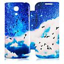 Sea Mew и Blue Sky Pattern Полный Дело орган для Samsung Galaxy S4 Mini I9190