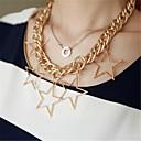 Fashion Stars Charm Chain Choker Necklaces & Pendants for Women 2014 New