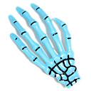 Harajuku Skeleton Ghost Hand Bones Barrettes