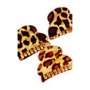 Leopard Stripe Acrylic Small Hair Claws