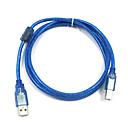 GRIS 1.5M 4.92FT USB2.0 мужчина к USB-B Мужской кабель принтера Бесплатная доставка