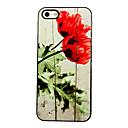 Роза алюминиевый Футляр Цветущий шаблон для iPhone 4 / 4S