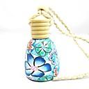 LEBOSH ™ Полимерная глина Духи Подвесные Круглый Основные Бутылки Нефть автомобилей висячие украшения (Random Color)