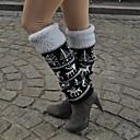 Один Сюань-под колена жаккардовым переплетением Носки для поддержания температуры и защиты Leg