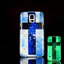 Крест шаблон Glow в жестком футляре темноте Samsung Galaxy S5 I9600