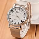 Женская Серебряный Стальной браслет кварцевые аналоговые наручные часы (разных цветов)