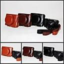 Dengpin Ретро Кожа PU текстуры личи камеры Защитная сумка Чехол с ремешком для Nikon V3 10-30mm Lens