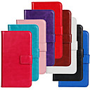Нубука кожаный бумажник карты Обычная ПУ чехол с подставкой для Samsung Galaxy Trend Lite S7390 / S7392 (разных цветов)