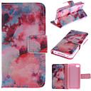 Red Sky шаблон PU кожаный чехол для всего тела с подставкой и держатель для денег iPhone 4 / 4S