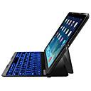 DGZ Сверхтонкий Bluetooth для беспроводной клавиатуры Обложка алюминиевый для Ipad 2 / iPad3 / Ipad 4 Клавиатура имеет 6 цвет задней подсветки