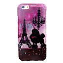 Париж башня Печать Мерцающий Порошок ТПУ Прозрачный Падение Доказательство чехол для iPhone 6