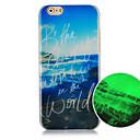 Вид на море шаблон Световой Телефон Дело задняя крышка чехол для iPhone5C