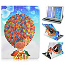 Red Hot Air Balloon Rotating Holster for Galaxy Tab A9.7 T550