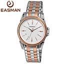 EASMan Men Rose Gold Watch Brand Men Casual Roma Steel Style Quartz Watches For Men Wristwatches