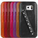 UWEI Oil Wax  Leather  Cover Sports Style for Samsung galaxy S6
