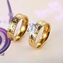 Европейские и американские моды алмазов кольца пара серии 4 Пара Кольца Обручальные / партии / Ежедневно / вскользь 2шт