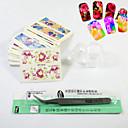 Finger-Punk-3D Negle Stickers / Negle Smykker-PVC-1set-70mm*65mm
