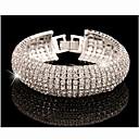 MISSING U Alloy / Rhinestone Bracelet Chain & Link Bracelets Wedding / Party / Daily 1pc