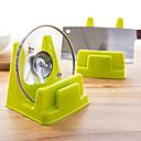 praktische Küche Topf Rack Multifunktions-Display-Racks entwässern zufällige Farbe