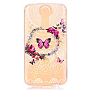 Flower Butterfly Pattern Embossed TPU Case for LG K7/ K10