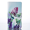 Butterfly Painted PU Phone Case for Huawei P9/P9lite